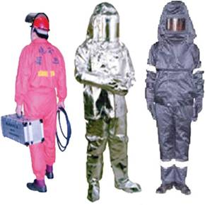 Water and static-proof and foil work clothes